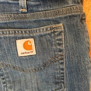 Carhartt Pants - Carhartt Jean denim capris with small slit